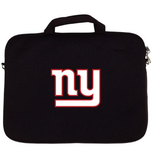 "NY Giants Black Neoprene Laptop Case for 15"" Laptops - NFL Licensed"