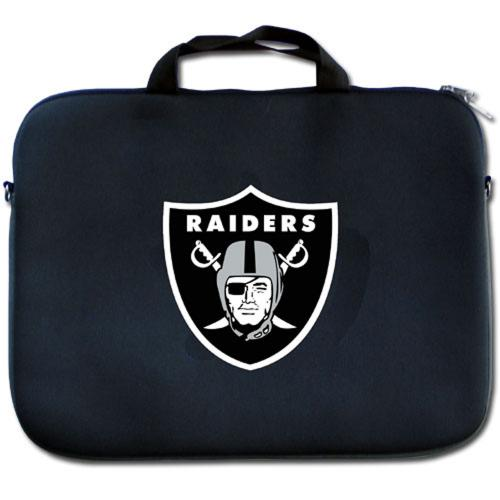 "Oakland Raiders Black Neoprene Laptop Case for 15"" Laptops - NFL Licensed"