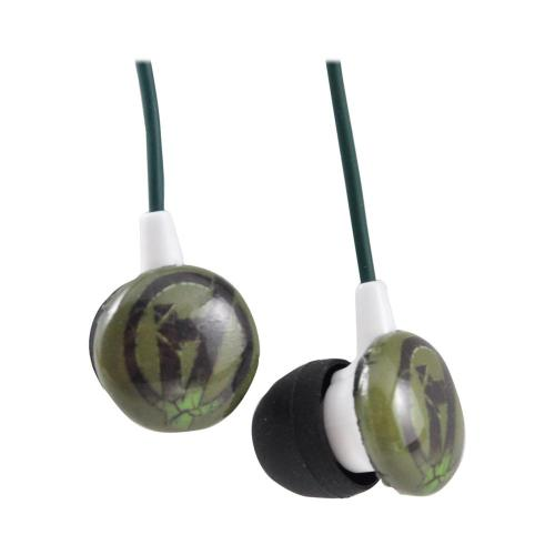 Officially Licensed Marvel Universal Stereo Earbud Headset (3.5mm) - The Hulk Avengers Logo