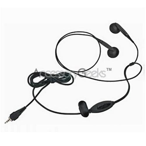 HTC Mogul PPC 6800 Stereo Headset w/ Answer/End Button & Volume Control - Black