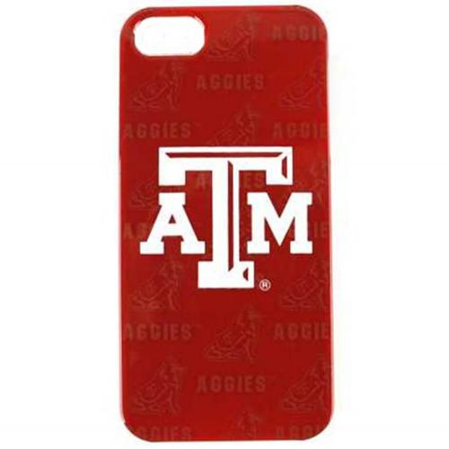 Texas A&M Aggies Hard Cover Case for Apple iPhone 5/5S - NCAA Licensed