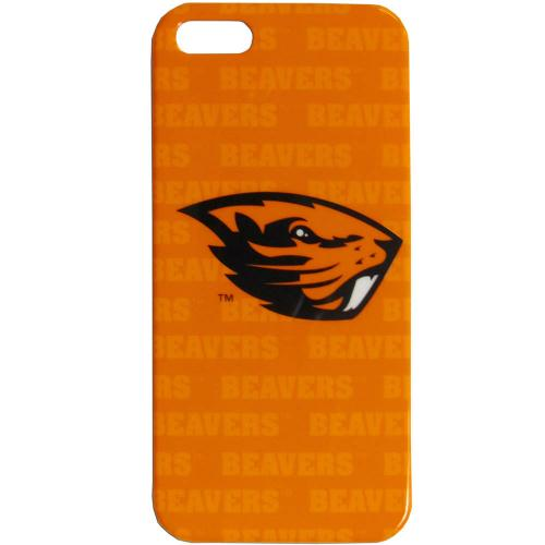 Oregon State Beavers Hard Cover Case for Apple iPhone 5/5S - NCAA Licensed