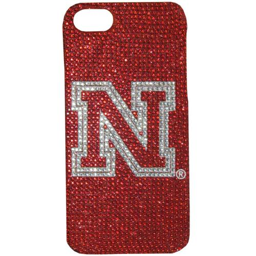 Nebraska Cornhuskers Bling Gems Hard Case for Apple iPhone 5/5S - NCAA Licensed
