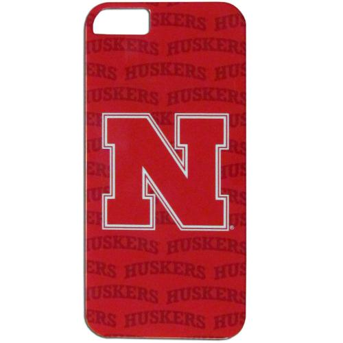 Nebraska Cornhuskers Hard Cover Case for Apple iPhone 5/5S - NCAA Licensed