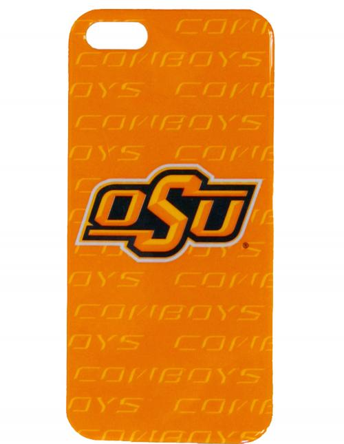 Oklahoma Sate Cowboys Hard Cover Case for Apple iPhone 5/5S - NCAA Licensed