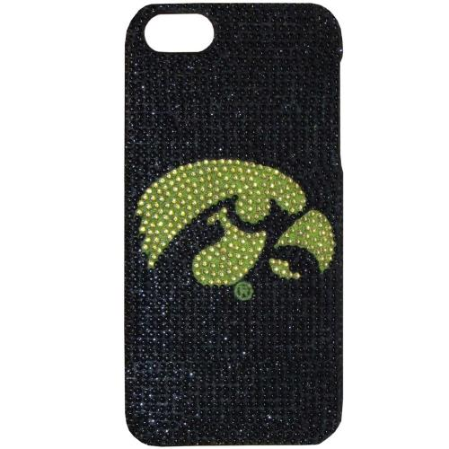 Iowa Hawkeyes Bling Gems Hard Case for Apple iPhone 5/5S - NCAA Licensed