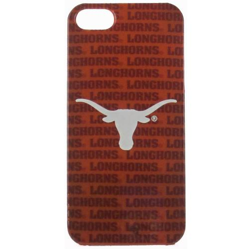 Texas Longhorns Hard Cover Case for Apple iPhone 5/5S - NCAA Licensed