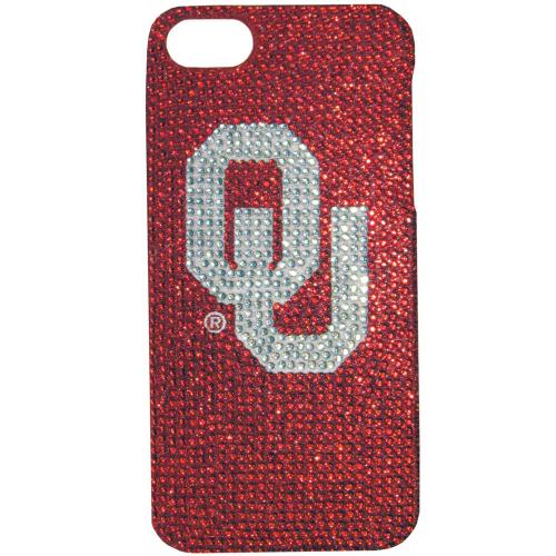 Oklahoma Sooners Bling Gems Hard Case for Apple iPhone 5/5S - NCAA Licensed