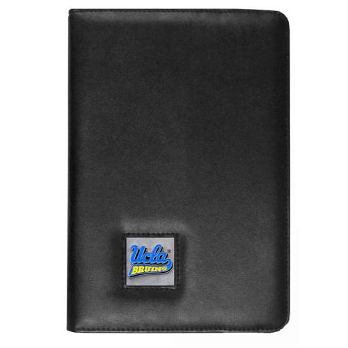 UCLA Bruins Black Faux Leather Folio Case for Apple iPad Mini 1/2/3 - NCAA Licensed