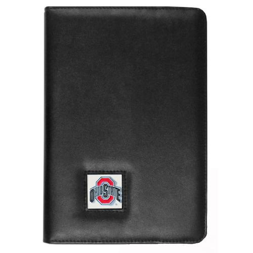 Ohio State Buckeyes Black Faux Leather Folio Case for Apple iPad Mini 1/2/3 - NCAA Licensed