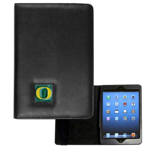 Oregon Ducks Black Faux Leather Folio Case for Apple iPad Mini 1/2/3 - NCAA Licensed