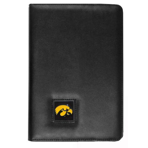 Iowa State Hawkeyes Black Faux Leather Folio Case for Apple iPad Mini 1/2/3 - NCAA Licensed