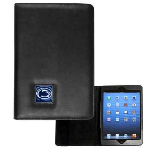 Penn State Lions Black Faux Leather Folio Case for Apple iPad Mini 1/2/3 - NCAA Licensed