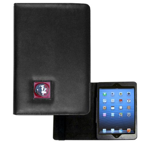 Florida State Seminoles Black Faux Leather Folio Case for Apple iPad Mini 1/2/3 - NCAA Licensed