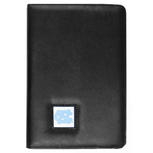 North Carolina Tarheels Black Faux Leather Folio Case for Apple iPad Mini 1/2 - NCAA Licensed