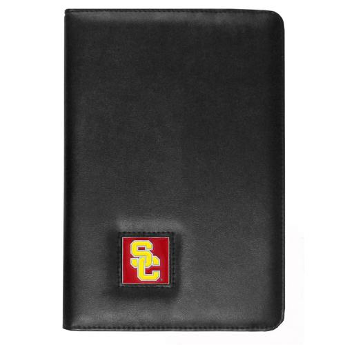 USC Trojans Black Faux Leather Folio Case for Apple iPad Mini 1/2/3 - NCAA Licensed