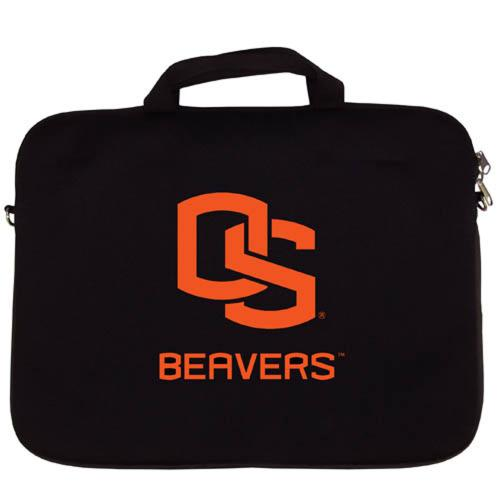 "Oregon State Beavers Black Neoprene Laptop Case for 15"" Laptops - NCAA Licensed"