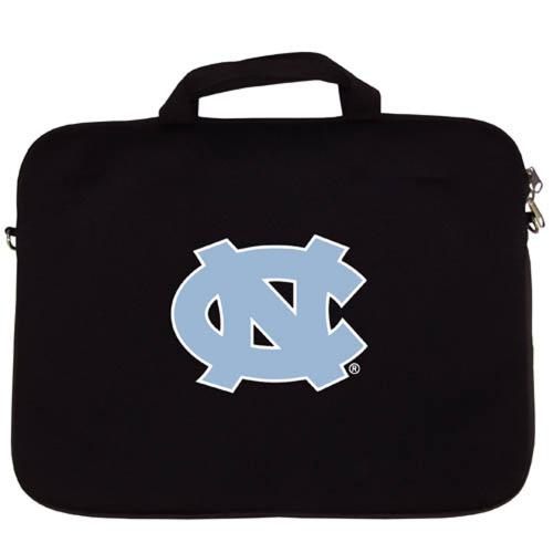 "North Carolina Tarheels Black Neoprene Laptop Case for 15"" Laptops - NCAA Licensed"