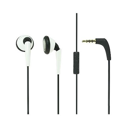 iSkin Black / White earTones 3.5mm earbuds- ETNE-WE6