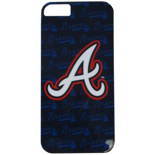 Atlanta Braves Hard Snap-On Case for Apple iPhone 5/5S - MLB Licensed