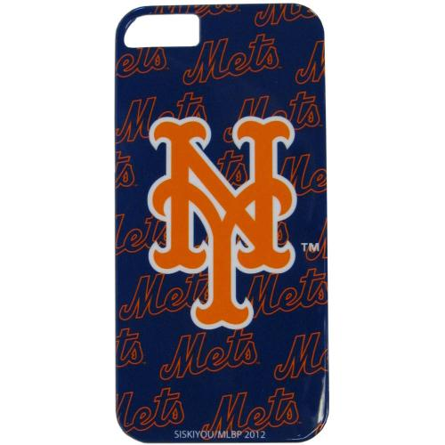 New York Mets Hard Snap-On Case for Apple iPhone 5/5S - MLB Licensed