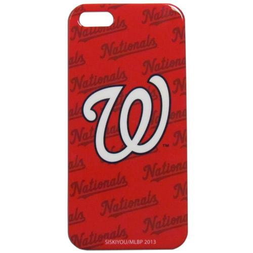 Washington Nationals Hard Snap-On Case for Apple iPhone 5/5S - MLB Licensed