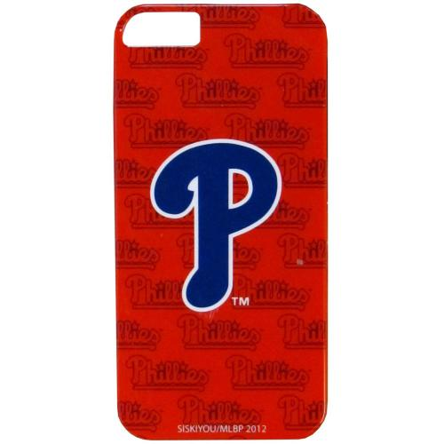 Philadelphia Phillies Hard Snap-On Case for Apple iPhone 5/5S - MLB Licensed