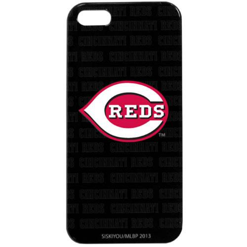 Cincinnati Reds Hard Snap-On Case for Apple iPhone 5/5S - MLB Licensed
