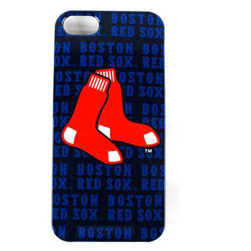 Apple iPhone SE / 5 / 5S  Case, MLB Licensed [Boston Red Sox]  Hard Snap-On Case