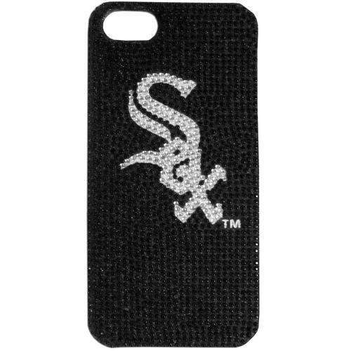 Chicago White Sox Bling Gems Hard Case for Apple iPhone 5/5S - MLB Licensed