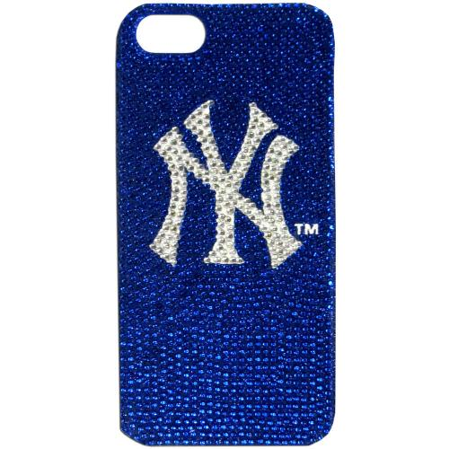 New York Yankees Bling Gems Hard Case for Apple iPhone 5/5S - MLB Licensed