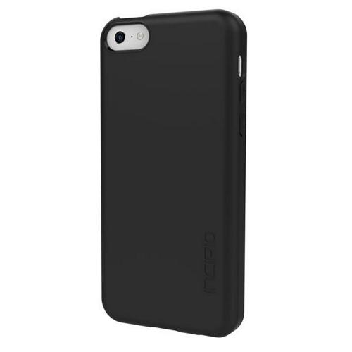 Incipio Black Feather Series Rubberized Hard Case for Apple iPhone 5C - IPH-1141-BLK