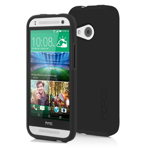 Incipio Black HTC One Remix Dual PRO Series Rubberized Hard Case on Silicone Skin {HT-403-BLK} - Awesome Protection!