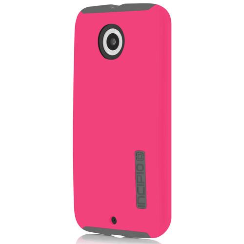 Incipio Hot Pink/ Gray Motorola Moto X (2014 2nd Gen) Dual PRO Series Rubberized Hard Case on Silicone Skin Case {MT-342-PNK} - Fantastic Protection!