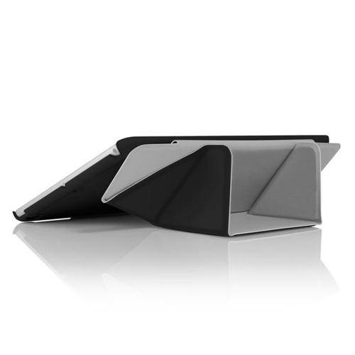 Incipio Black LGND Series Hard Folio Case w/ Microsuede Interior for Apple iPad Air - IPD-331-BLK