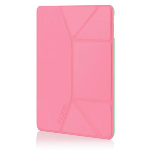 Incipio Pink/ Mint LGND Series Hard Folio Case w/ Microsuede Interior for Apple iPad Air - IPD-331-PNK