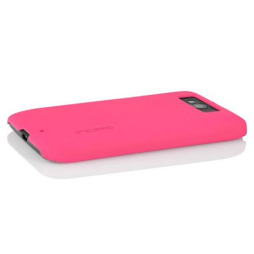Incipio Hot Pink Feather Series Rubberized Hard Case for Motorola Droid Mini - MT-263