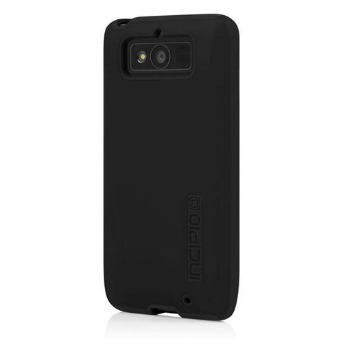 Incipio Black Dual PRO Series Rubberized Hard Case on Silicone Skin for Motorola Droid Mini - MT-266