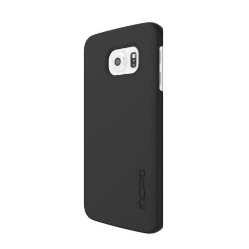 Samsung Galaxy S6 Edge Case, Incipio [Black]  Slim Grip Rubberized Matte Snap-on Hard Polycarbonate Plastic Protective Case