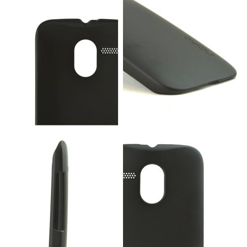 Incipio Black Feather Series Rubberized Hard Case for Motorola Moto G - MT-333-BLK