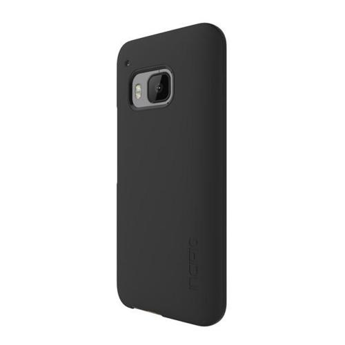 HTC One M9 Case, Incipio [Black] FEATHER Series Ultra Thin Rubberized Hard Cover Case