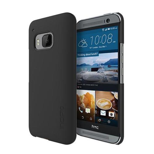 Incipio Black HTC One M9 Feather Series Ultra Thin Rubberized Hard Cover Case [HT-418-BLK] - Perfect for Minimalists!
