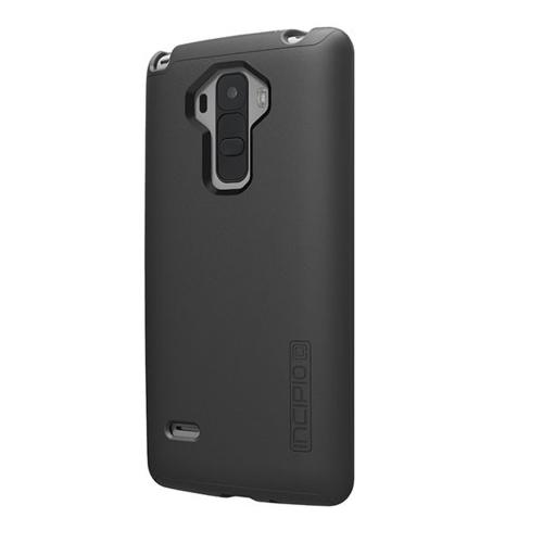 LG G Stylo Case, Incipio Dual PRO Series [BLACK] Dual Layer Rubberized Hard Cover on Silicone Skin Heavy Duty Protective Hybrid Case