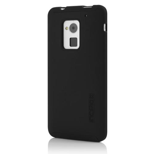 Incipio Black DualPro Series Hard Cover Over Silicone for HTC One Max - HT-394-BLK