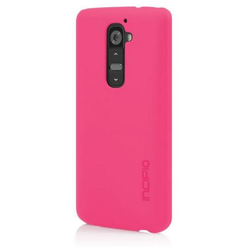 Incipio Hot Pink Feather Series Rubberized Hard Case for LG G2 - LGE-217-PNK