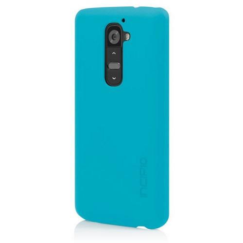 Incipio Cyan (Turquoise) Feather Series Rubberized Hard Case for LG G2 - LGE-217-CYN