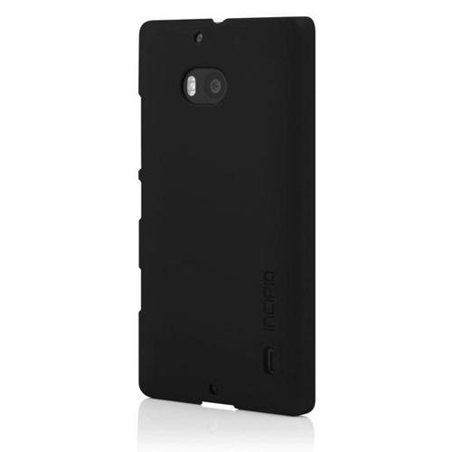 Incipio Black Feather Series Rubberized Hard Case for Nokia Lumia Icon - NK-180-BLK