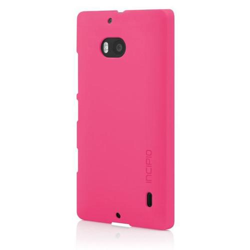 Incipio Hot Pink Feather Series Rubberized Hard Case for Nokia Lumia Icon - NK-180-PNK