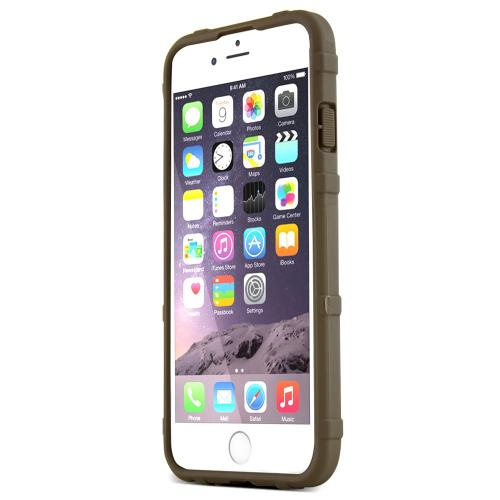 Apple iPhone 6/ 6S Case, Magpul [Flat Dark Earth] Field Case Slim & Protective Rubberized Matte Finish Snap-on Hard Polycarbonate Plastic Case Cover