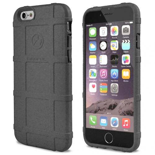 Apple iPhone 6/ 6S Case, Magpul [Gray] Field Case Slim & Protective Rubberized Matte Finish Snap-on Hard Polycarbonate Plastic Case Cover